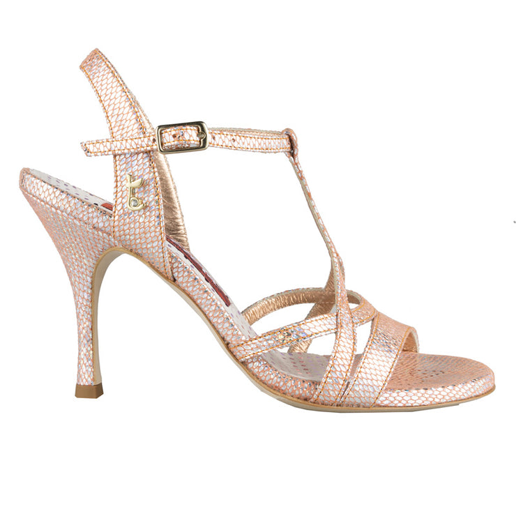Bari - Iridescent Copper 70, 90-Tangolera- Axis Tango - Best Tango Shoes