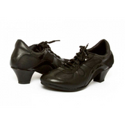 Rocio - Black Leather 50-DNI- Axis Tango - Best Tango Shoes