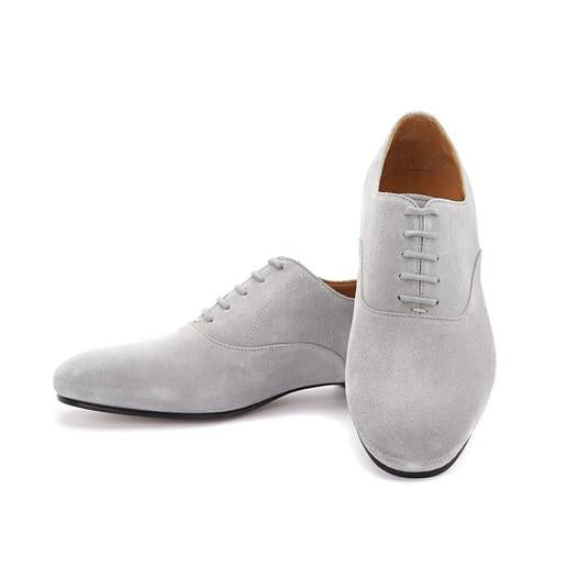 Francesina - Grey Suede - Axis Tango | Best Tango Shoes
