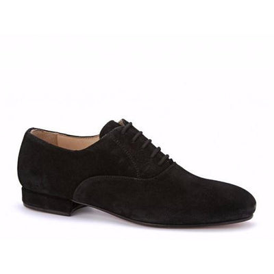 Francesina - Black Suede by Monsieur Pivot - Imported from Italy, Argentina and beyond: best tango shoes and tango apparel. Beautiful, comfortable, premium quality!