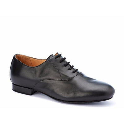 Francesina - Black Leather by Monsieur Pivot - Imported from Italy, Argentina and beyond: best tango shoes and tango apparel. Beautiful, comfortable, premium quality!