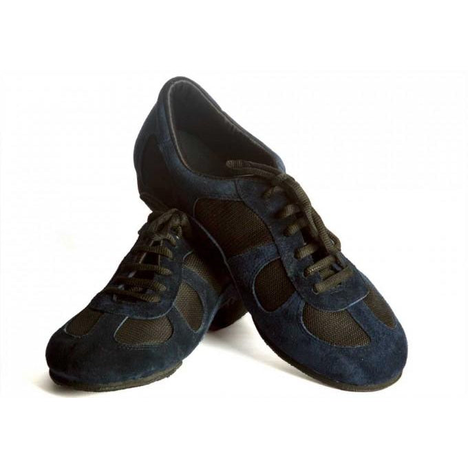 Adri - Blue Suede 20-DNI- Axis Tango - Best Tango Shoes