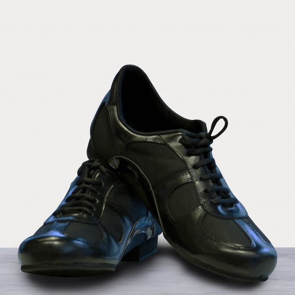 Adri - Black Leather 20-DNI- Axis Tango - Best Tango Shoes