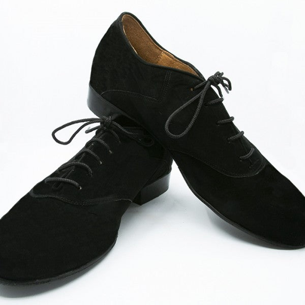 Alejandro - Black Suede-DNI- Axis Tango - Best Tango Shoes