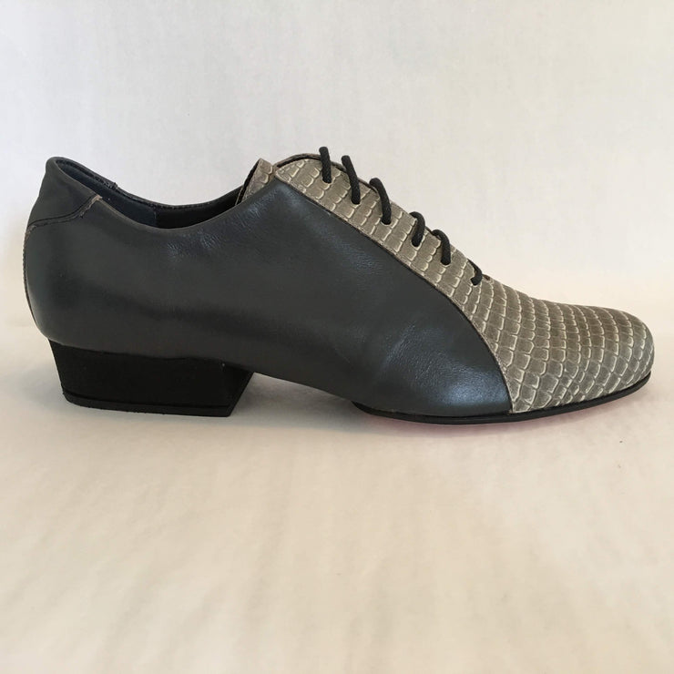 Almagro FLEX Gris Oscuro Iguana Natural - FINAL SALE | Axis Tango - Best Tango Shoes