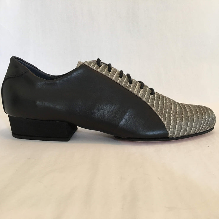 Almagro FLEX - Negro y Iguana Natural - FINAL SALE | Axis Tango - Best Tango Shoes