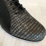 Almagro FLEX - Negro y Iguana Negro - FINAL SALE | Axis Tango - Best Tango Shoes