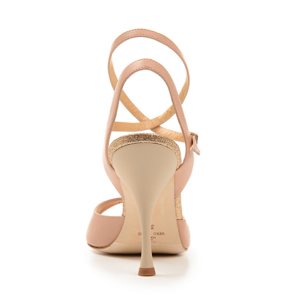 Enna CL - Nude Leather (9cm)