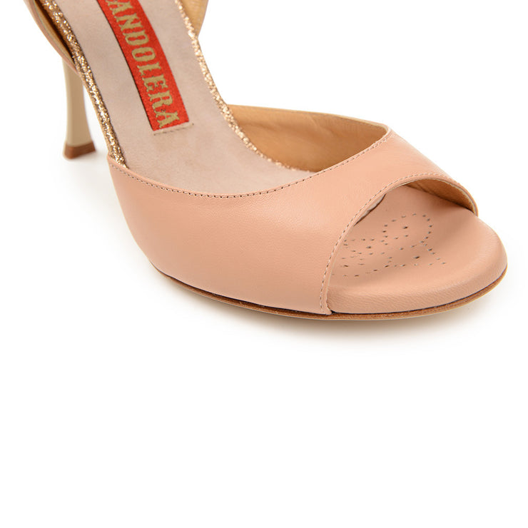 Enna CL - Nude Leather (9cm) | Axis Tango - Best Tango Shoes