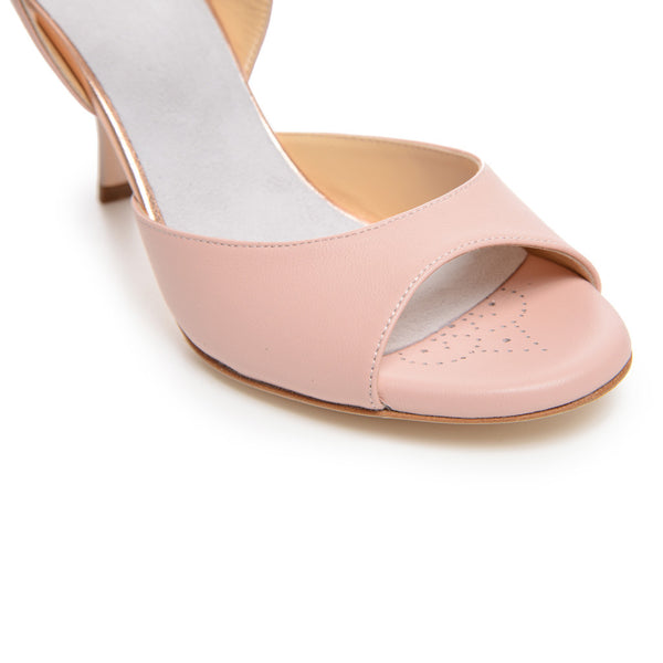 Enna CL - Pink & Copper Leather (7cm)