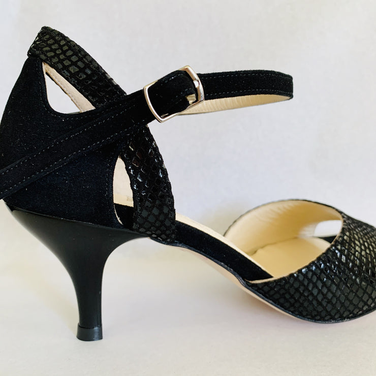 Monteros - Black-Paso de Fuego- Axis Tango - Best Tango Shoes