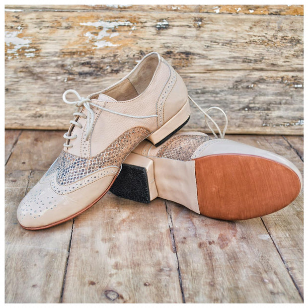 Fulana - Beige-Fulana- Axis Tango - Best Tango Shoes