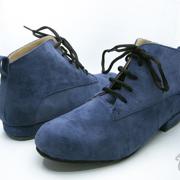 Gonchi - Blue Suede 20-DNI- Axis Tango - Best Tango Shoes