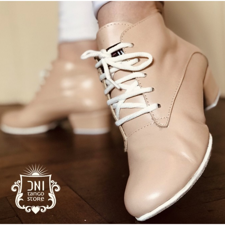 Tita - Blush Leather 40-DNI- Axis Tango - Best Tango Shoes