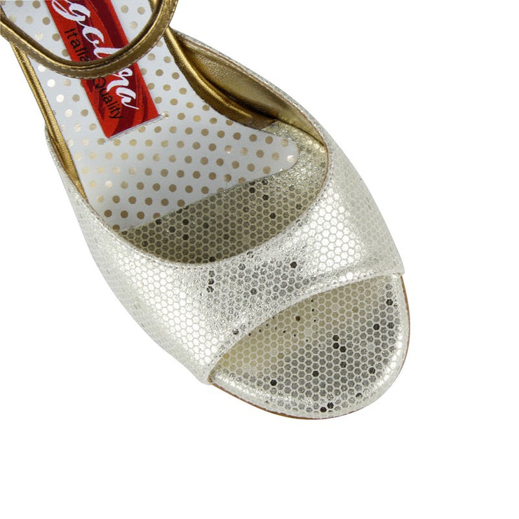 Enna - Basic Platinum Dots 60 | Axis Tango - Best Tango Shoes