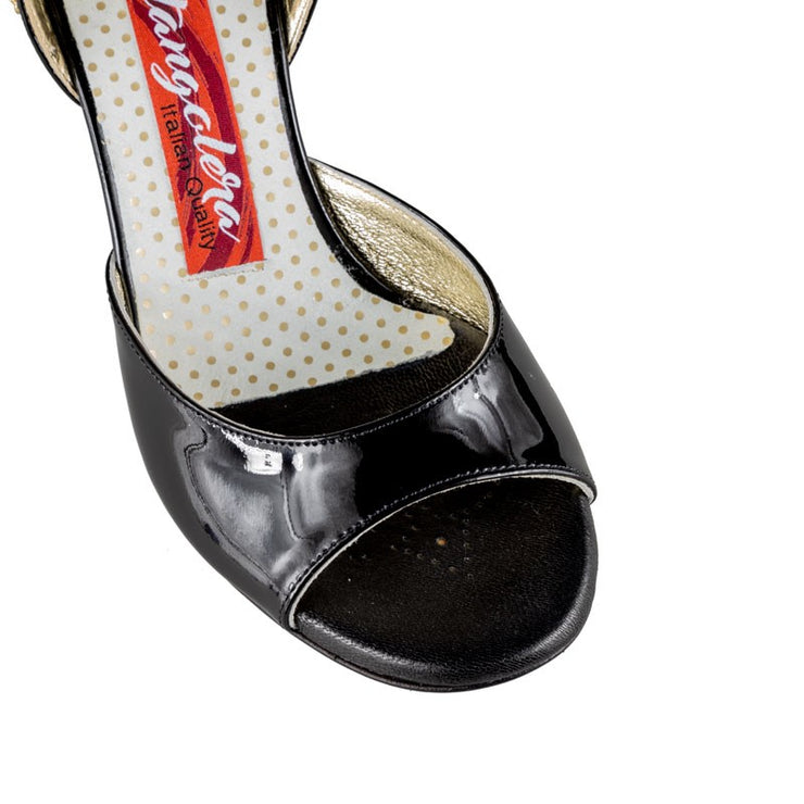 Enna CL - Black Patent Leather (7cm) | Axis Tango - Best Tango Shoes
