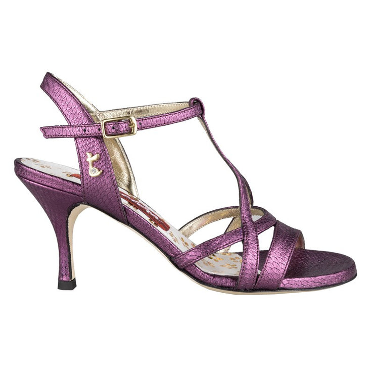 Bari - Purple Bengalino Leather 70, 90-Tangolera- Axis Tango - Best Tango Shoes