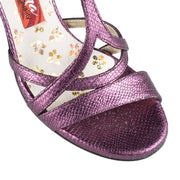 Bari - Purple Bengalino Leather 90 | Axis Tango - Best Tango Shoes