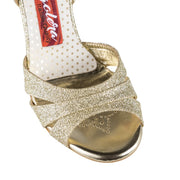 Novara CL - Diamond Glitter (8cm) | Axis Tango - Best Tango Shoes