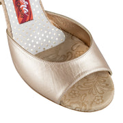 Siena CL - Bronze Glitter (8cm) | Axis Tango - Best Tango Shoes