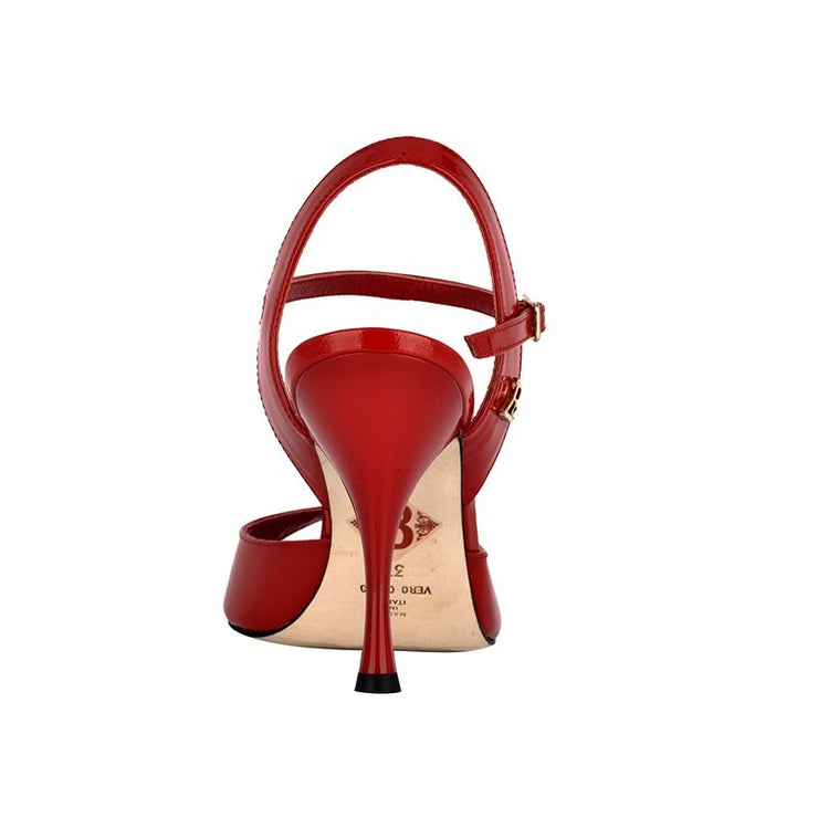 Enna - Red Patent Leather-Tangolera- Axis Tango - Best Tango Shoes