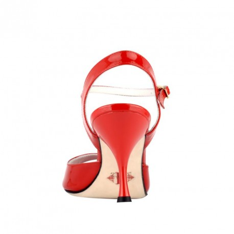 Enna - Red Patent Leather 60, 70, 90-Tangolera- Axis Tango - Best Tango Shoes