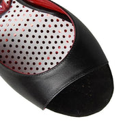 Enna CL - Black Napa Leather (9cm) | Axis Tango - Best Tango Shoes