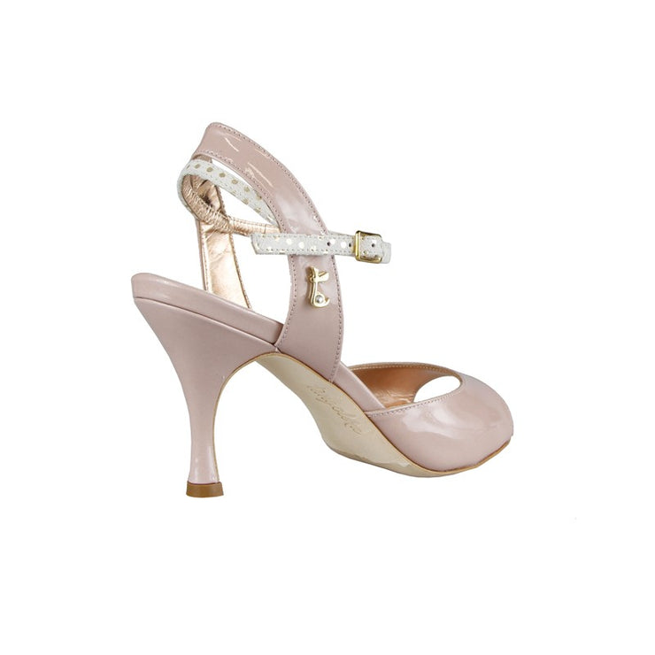 Asti - Blush Patent Leather (7cm) | Axis Tango - Best Tango Shoes