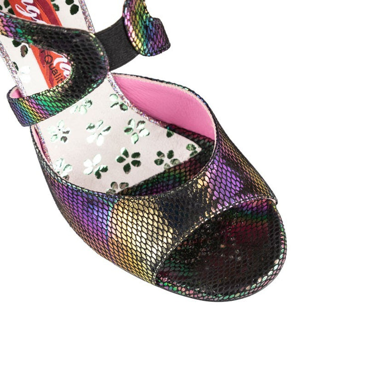 Trapani - Galaxy Python (8cm) | Axis Tango - Best Tango Shoes