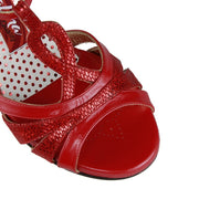 Catania C - Red Leather 70 | Axis Tango - Best Tango Shoes