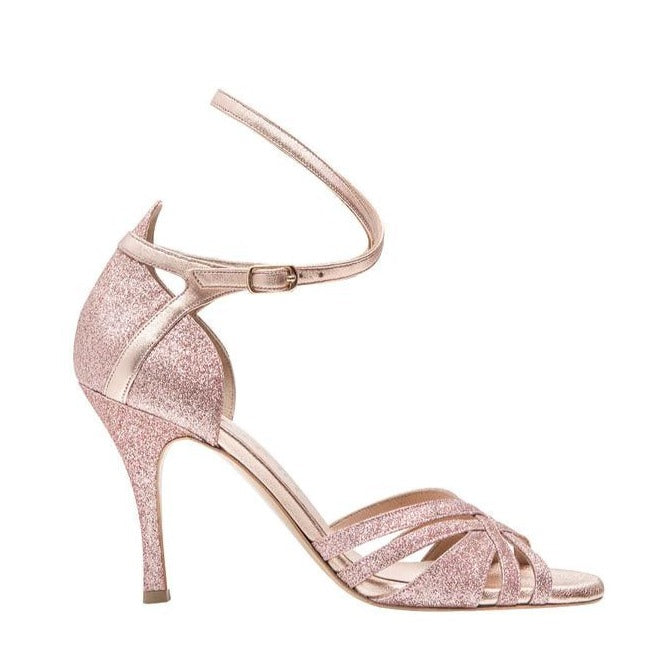 Artemis - Rose Gold-Cardou- Axis Tango - Best Tango Shoes