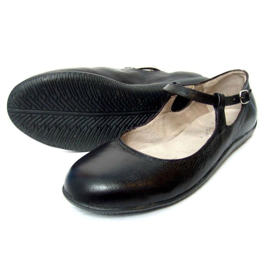 Malandra - Black Smooth Leather - FINAL SALE