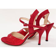 Corrientes - Red Leather and Red Suede 50, 60, 70, 80