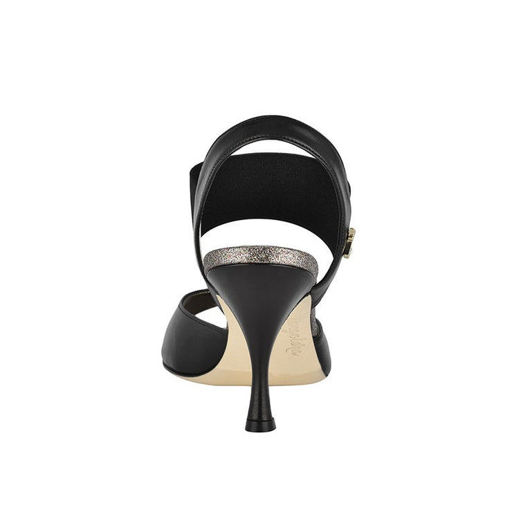 Pisa - Black Leather (7cm) | Axis Tango - Best Tango Shoes