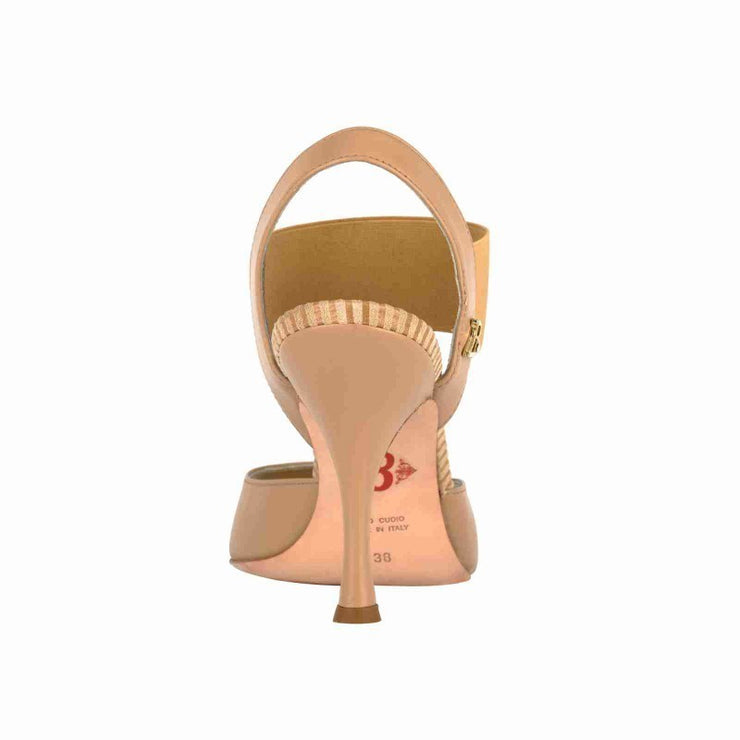 Pisa - Nude Leather 70, 90-Tangolera- Axis Tango - Best Tango Shoes