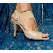 Pisa - Nude Leather (7cm) | Axis Tango - Best Tango Shoes