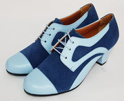 Frontera - Blue-Paso de Fuego- Axis Tango - Best Tango Shoes