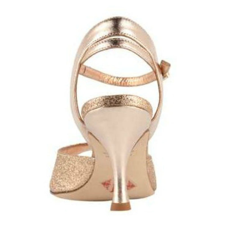 Asti - Copper Microglitter 70, 90-Tangolera- Axis Tango - Best Tango Shoes