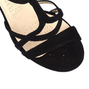 Como - Black Suede (9cm) | Axis Tango - Best Tango Shoes
