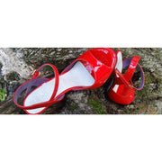 Enna - Red Patent Leather (9cm) | Axis Tango - Best Tango Shoes