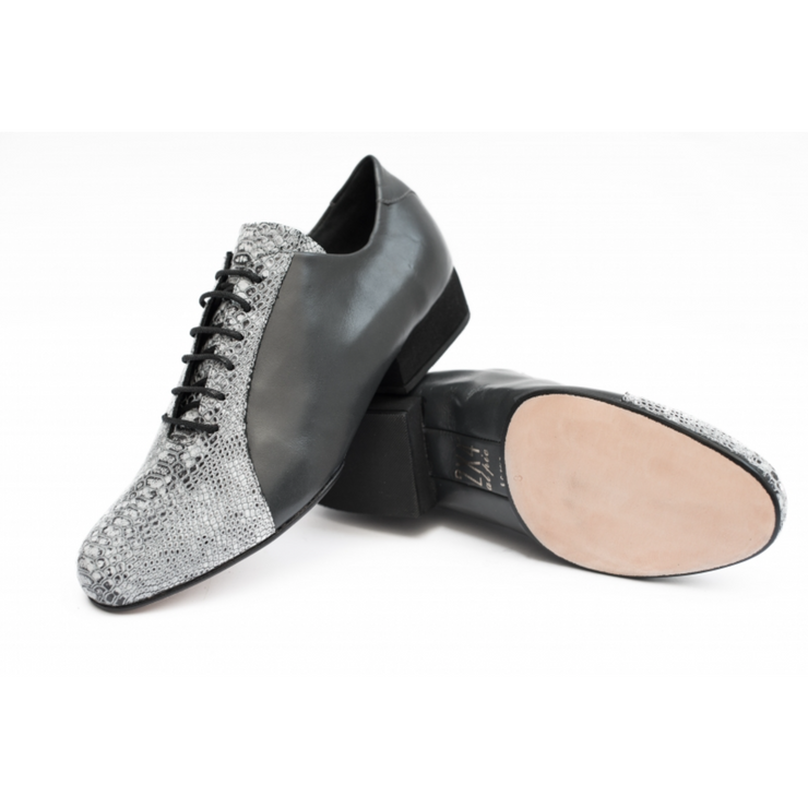 Almagro FLEX - Gris Serpiente Gris | Axis Tango - Best Tango Shoes