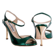 Luna - Green Tejus-Alagalomi- Axis Tango - Best Tango Shoes