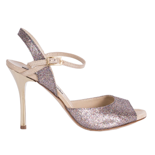 Dalia - Glitter Rainbow-Alagalomi- Axis Tango - Best Tango Shoes