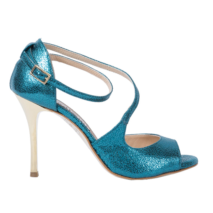 Venus - Turquoise Allure-Alagalomi- Axis Tango - Best Tango Shoes