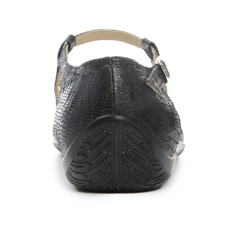 Jinx - Black Stamped Leather - FINAL SALE | Axis Tango - Best Tango Shoes