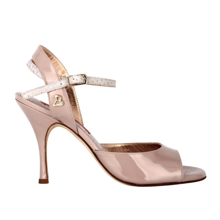Asti - Blush Patent Leather 70, 90-Tangolera- Axis Tango - Best Tango Shoes