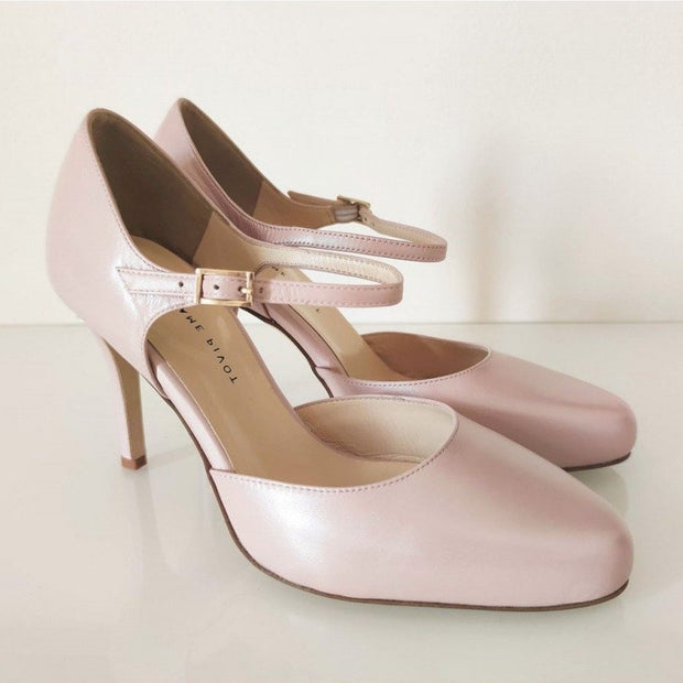 Melby - Nude-Madame Pivot- Axis Tango - Best Tango Shoes