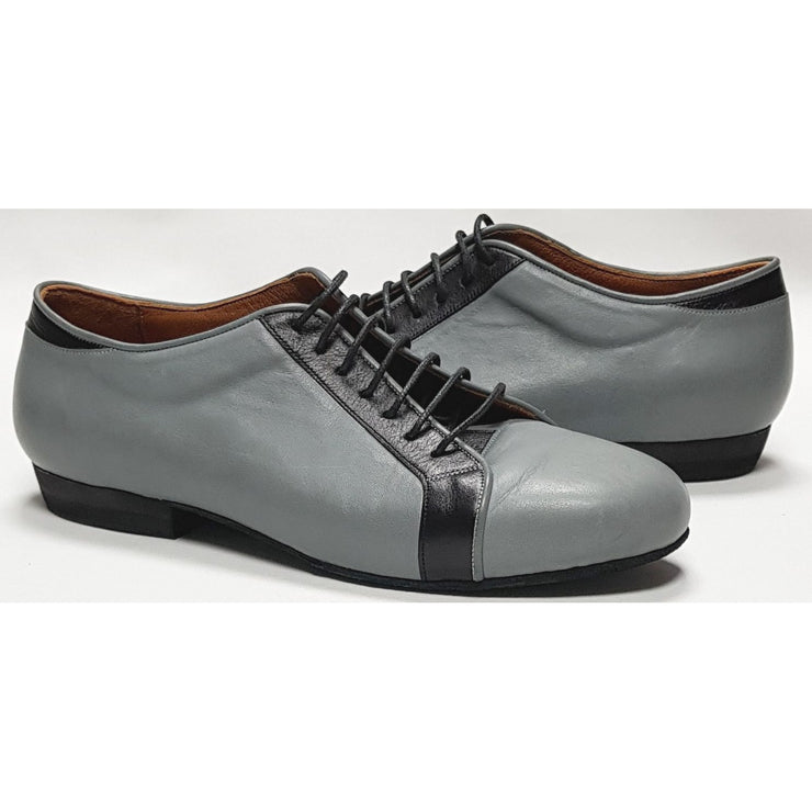 Trainer - Grey Leather | Axis Tango - Best Tango Shoes