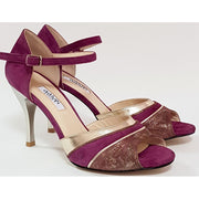 Pinamar - Bordeaux Suede 50, 60, 70, 80-Galupi- Axis Tango - Best Tango Shoes