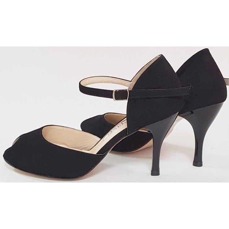 Sarandi - Black Suede | Axis Tango - Best Tango Shoes